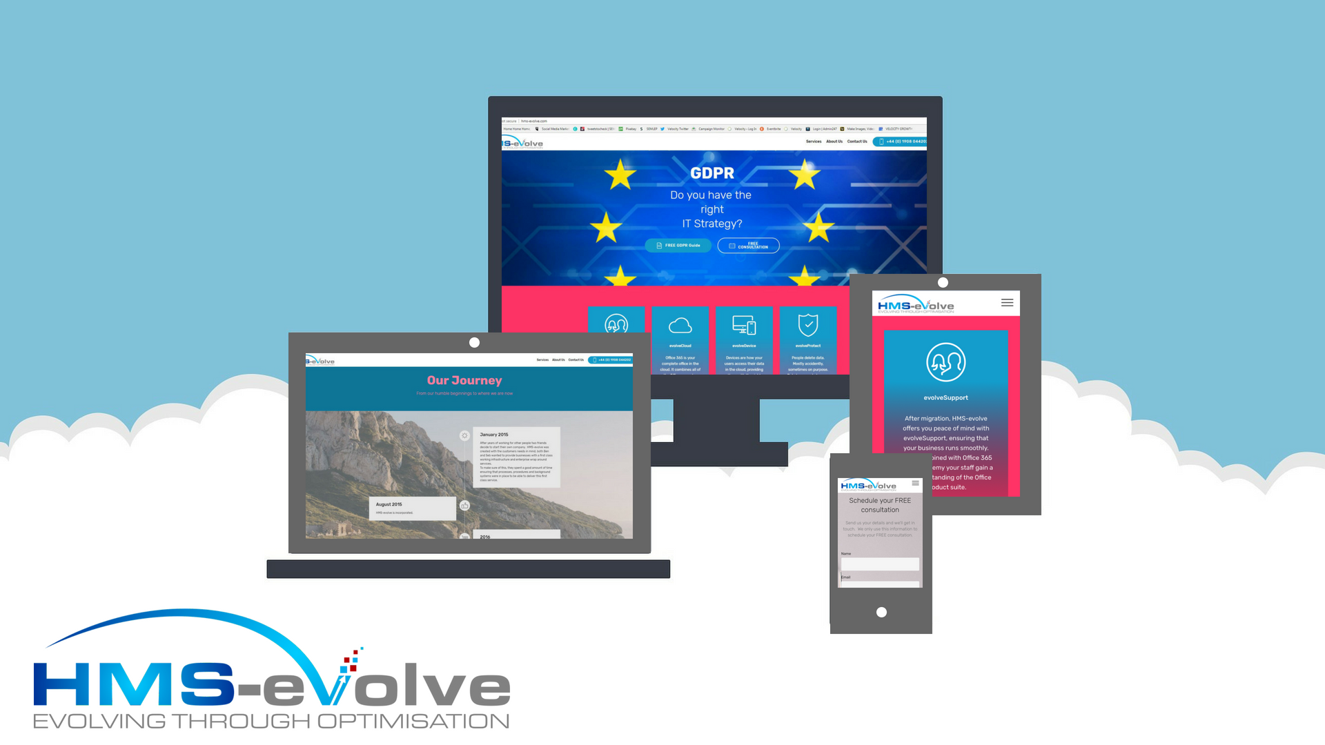 From humble to happening – a clear business direction for HMS Evolve