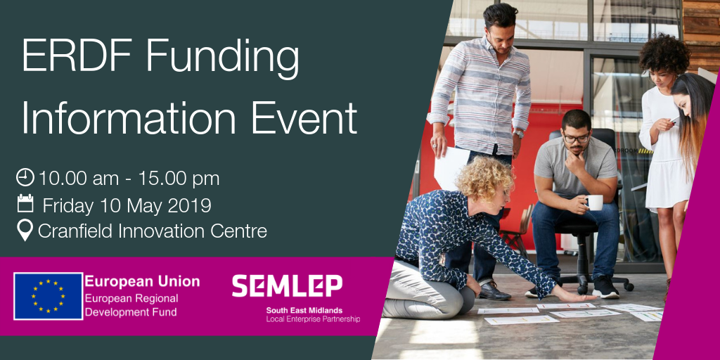 ERDF Funding Information Event