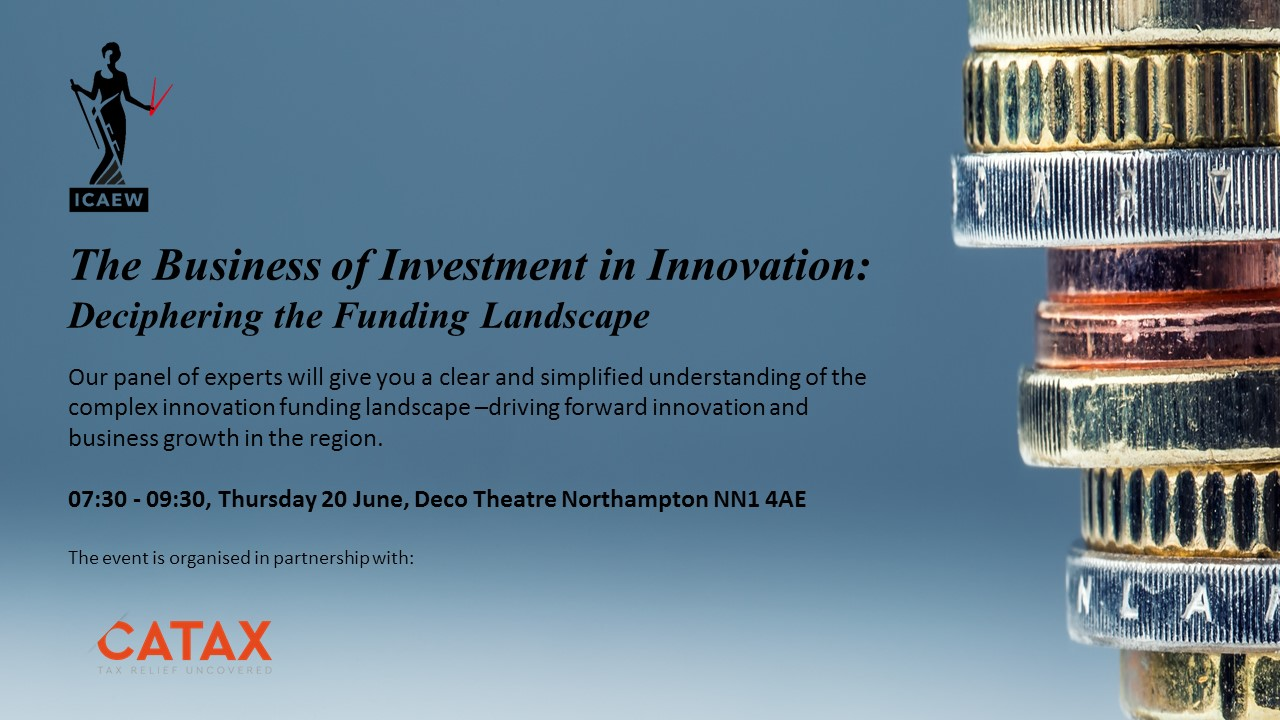 The Business of Investment in Innovation: Deciphering the funding landscape