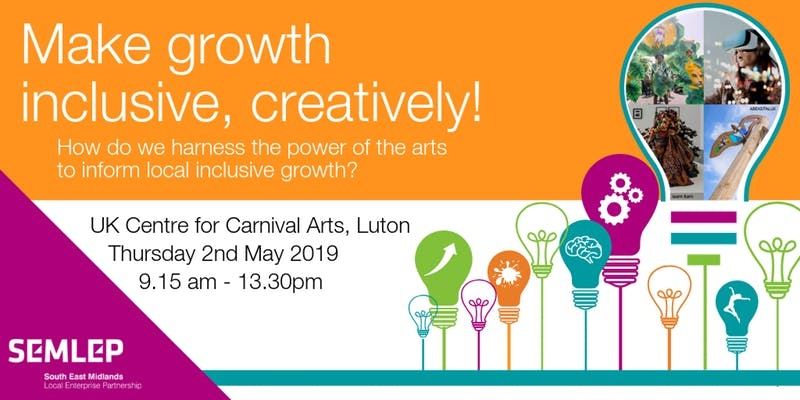 Making growth inclusive, creatively!