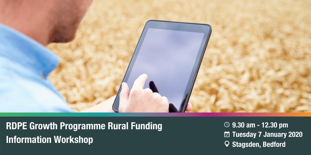 RDPE Growth Programme: Rural Funding Information Workshop – Stagsden
