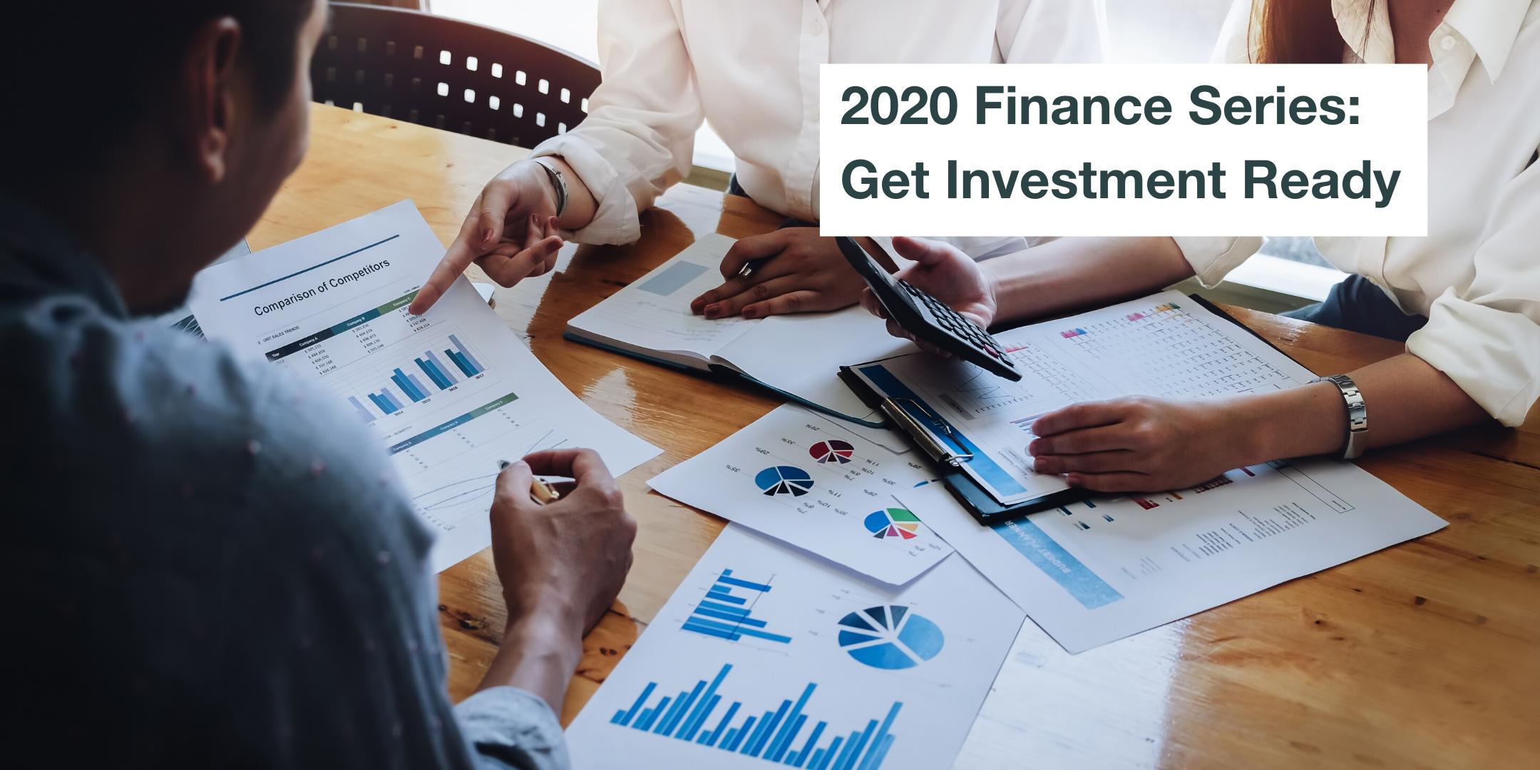 2020 Finance Series: 4th, 13th, 18th, 28th February