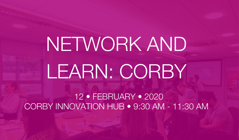 Network and Learn: Corby – Wellbeing in the workplace