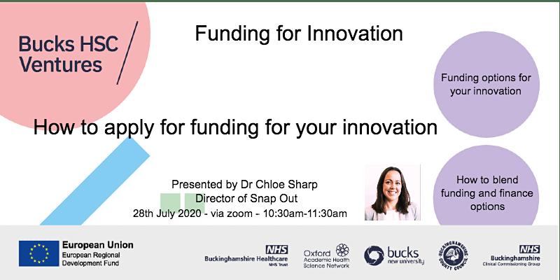 Funding for Innovation