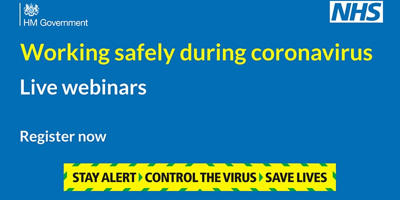 Working safely during coronavirus: construction & other outdoor work