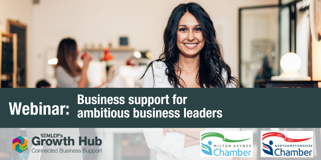 Business support for ambitious business leaders